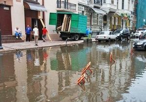 В Одессе продолжает бушевать непогода