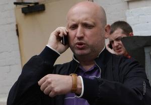 Стычки в День Независимости: МВД допускает возбуждение дела против Турчинова