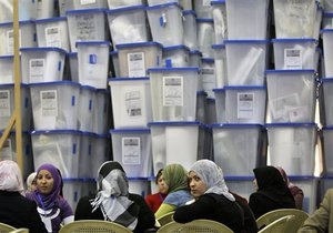 На выборах в Ираке лидирует правящая коалиция