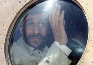 У Ахмадинеджада сломался вертолет