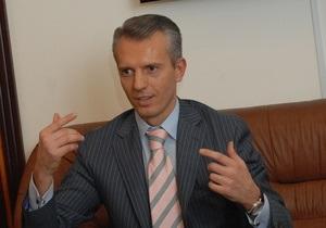 Янукович назначил генерала Хорошковского главой Минфина