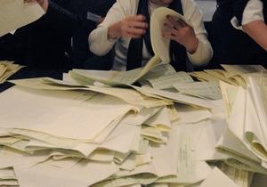 Выборы-2012: количество испорченных бюллетеней превысило миллион