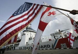 США и Грузия проводят совместные морские учения