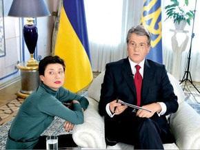 Ющенко отложил ответ на заявление Медведева