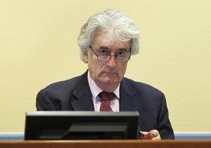 Караджич обвинил Германию в утаивании незаконных сделок НАТО с боснийскими мусульманами