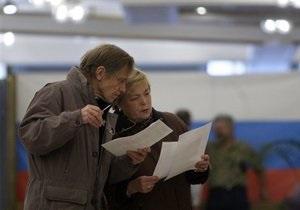 К выборам в Госдуму РФ допустили семь партий