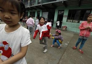В Китае одновременно заболели более 300 учеников одной школы
