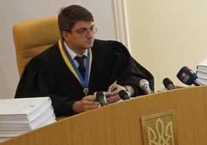 Судья Киреев пригрозил Тимошенко удалением из зала суда