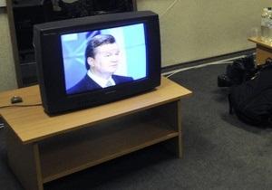 Несмотря на интервью с Януковичем, рейтинги Шустер live упали