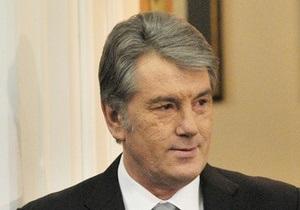 Ющенко считает выполнение газовых контрактов Тимошенко большой ошибкой