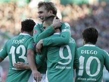 Бундес лига: Вердер громит Шальке