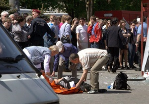 Дело о взрывах в Днепропетровске начнут предварительно рассматривать 8 ноября