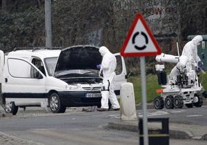 В пригороде Белфаста обнаружено самодельное взрывное устройство