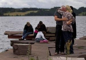 Родственники погибших на острове Утойя посетили место трагедии