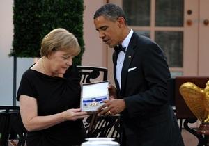 Обама наградил Меркель медалью Свободы