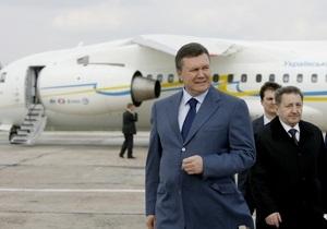 Янукович рассказал о совместных с Россией проектах в авиастроении