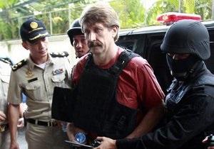 Виктора Бута доставили в тайский суд в бронежилете и в сопровождении спецназа