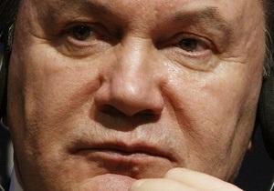 Янукович уволил ряд заместителей украинских министров