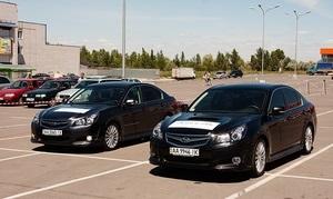 Всеукраинский Subaru Legacy Test-drive состоялся в Харькове и Запорожье
