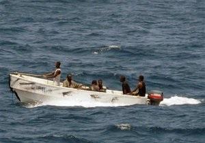 Сомалийские пираты захватили еще одно судно с украинцами на борту (обновлено)