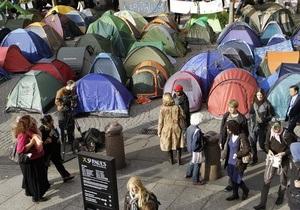Полиция Окленда снесла палаточный лагерь активистов движения Захвати Уолл-Стрит