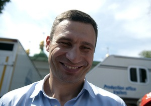 мотопробег - Киев-Вильнюс - Кличко - Колонна мотоциклистов, во главе с Кличко, стартовала из Киева