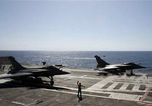 Франция больше не будет использовать в ливийской операции атомный авианосец Шарль де Голль
