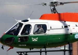 В Аргентине разбился вертолет морской полиции