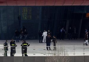 В афинском офисе курьерской доставки взорвалась самодельная бомба