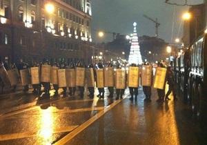 В ходе многотысячного митинга в Москве задержан блогер Навальный