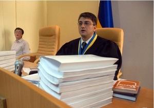 БЮТ: Судья Киреев зависит сразу от двух членов ВСЮ