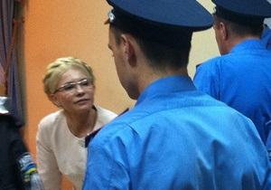 Суд отказался закрывать дело против Тимошенко и оставил ее под стражей
