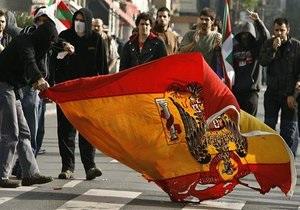 Испания обвинила Венесуэлу в поддержке баскских сепаратистов