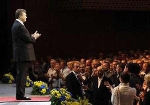 В ПР считают, что Янукович своим посланием доказал, что он - Президент всей Украины