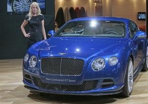 В Украине официально представили самый быстрый Bentley в истории бренда