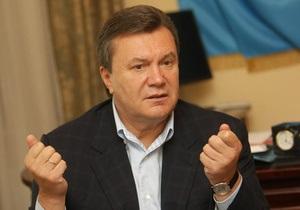 Янукович обещает быть гарантом свободы слова в Украине