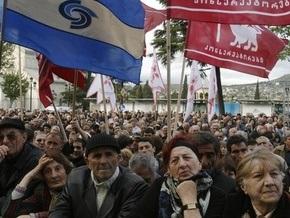 МВД Грузии обвиняет оппозиционеров в агрессии