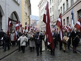В Латвии националисты подготовили законопроект о признании 9 мая днем траура