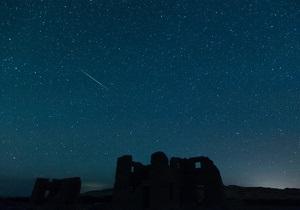 Метеоритный дождь достиг пика в северном полушарии