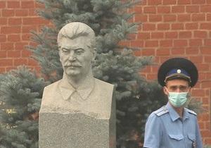 Депутаты предлагают Раде запретить сооружение памятников Сталину
