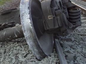 В Донецкой области 12 вагонов сошли с рельсов