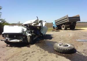 новости Кировоградской области - ДТП - В Кировоградской области в ДТП в участием грузовика погибли мужчина и четырехмесячная девочка