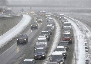 Погода в Украине - ГАИ призывает водителей быть внимательными на дорогах