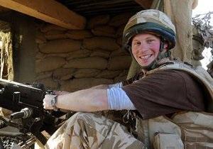 Принц Гарри возвращается из Афганистана
