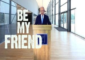 Миротворческий ролик президента Израиля стал хитом YouTube