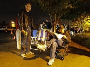 Выборы в США: Люди занимали очереди на избирательные участки с четырех часов утра