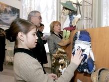 Катерина Ющенко посетила театральную выставку