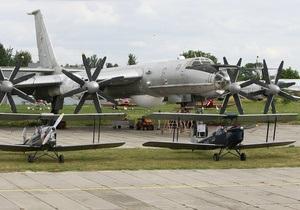 В Киев прилетели самолеты времен Второй мировой - видео