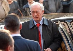 Азаров назвал появление улицы Батальона Нахтигаль позором для страны