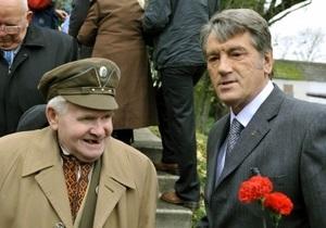 Суд признал законным указ Ющенко о чествовании воинов ОУН-УПА